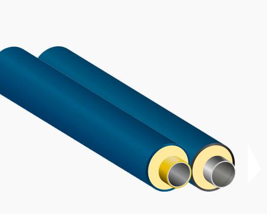 Теплоизолированная продукция со вставкой из термостойкого полиэтилена РЕ-RT